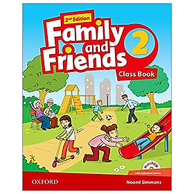 Family and Friends: Level 2: Class Book, Second Edition