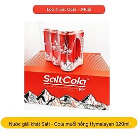 Thùng 24 lon nước giải khát có gas Salt-Cola muối hồng Himalayan 320ml