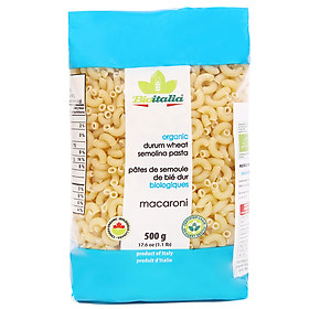 Nui Macaroni Hữu Cơ BioItalia (500g)