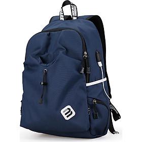 MARK RYDEN Portable Waterproof Multi-Function Outdoor Sport Laptop Men Backpack Leisure Students Schoolbag USB Charge