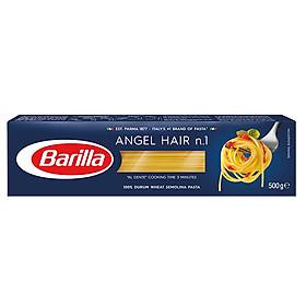 Mì Ý Barilla Sợi Hình Ống Angel Hair (500g)