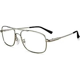 Kính lão thị trung niên mắt thủy tinh gọng hợp kim cao cấp kv35cpy