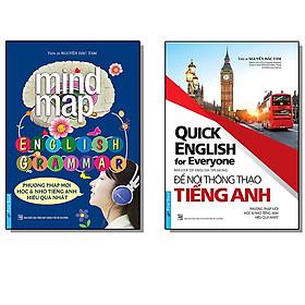 COMBO Sách Luyện Học Tiếng Anh Căn Bản (Để nói thông thạo tiếng Anh + MindMap - English Grammar)