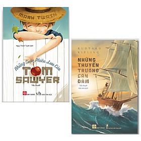 Combo 2 cuốn: Những Thuyền Trưởng Can Đảm + Những Cuộc Phiêu Lưu Của Tom Sawyer