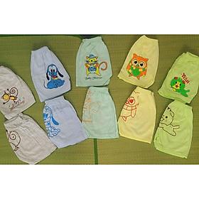 10 Quần đùi cotton in HÌNH hàng đẹp Ôm cả mùa hè cho bé với trọn bộ đồ đủ bộ cảm xúc, đủ bộ con vật, đủ cả bộ tình yêu Mom and Dad