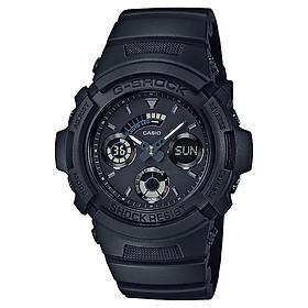 Đồng hồ nam dây nhựa Casio G-Shock chính hãng AW-591BB-1ADR