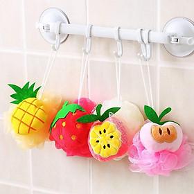 Bông tắm tạo bọt hình trái cây xinh xinh