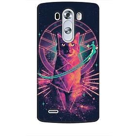 Ốp lưng dành cho điện thoại LG G3 Mèo Phép Thuật