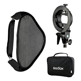 Godox Smart Softbox (60 x 60 cm) With Godox S Shape Adapter - Hàng Nhập Khẩu