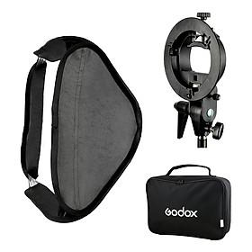 Godox Smart Softbox (40 x 40cm) With Godox S Shape Adapter - Hàng Nhập Khẩu