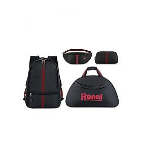 Hình đại diện sản phẩm Combo Ronal 4 món: Balo + Túi xách + Túi đeo hông hoặc trước ngực + Túi đựng phụ kiện
