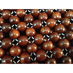 Chiếu hạt gỗ hương 1,8mx2m hạt 12ly - Chiếu gỗ mát lạnh mùa hè 2020