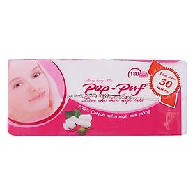 Bông Trang Điểm Pop Puf Hồng (180 Miếng / Gói)