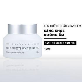 Kem dưỡng trắng da ban đêm dành cho nam MdoC Night Effect Whitening Gel 100g JN-MKD01