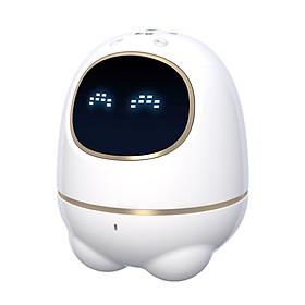 Keda News Flying Robot Alpha Super Egg Intelligent Robot Children Education Accompanying Educational Toy White