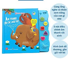Sách Âm Thanh Đinh Tị - Cho Bé Trải Nghiệm Đọc Sách Đầy Thú Vị - Nhiều Chủ Đề Để Chọn