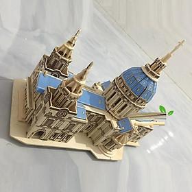 Đồ chơi lắp ráp gỗ 3D Mô hình Nhà thờ St Paul's