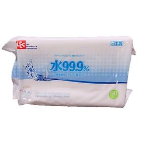 Thùng 20 gói giấy ướt Lec E-161 80 tờ 99.9% nước tinh khiết-1