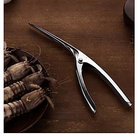Dụng cụ tách vỏ tôm inox 304 - Onlycook - 20.5x6cm 47g
