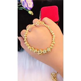 Lắc tay bi nữ dát vàng 18k