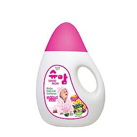 Nước xả tự nhiên hương hoa dịu nhẹ cho trẻ SHOOMOM 1,3L