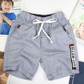 quần short lưng thun bé trai 10-25 ký