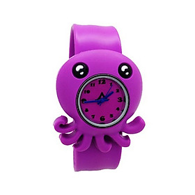 Đồng hồ Silicon Bạch tuộc đáng yêu cho bé