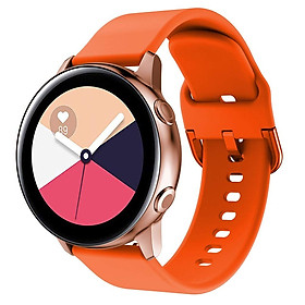 Dây Cao Su Cho Galaxy Watch Active 2, Active 1, Galaxy Watch 42 Size 20mm