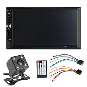 7 inch Double Din DVD Car Display MP5 Bluetooth Hands-free HD Touch Screen