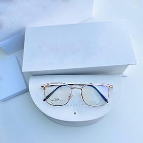 Mắt kính giả cận cao cấp gọng kim loại dành cho cả nam và nữ Jun Secrect LYLY2673
