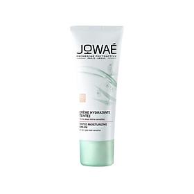 Kem dưỡng ẩm sáng da kiêm kem nền JOWAE mỹ phẩm thiên nhiên nhập khẩu chính hãng từ Pháp Tinted Moisturizing Cream Light 30ml
