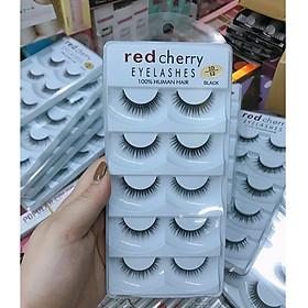 Lông mi giả Red Cherry sợi lông mềm bám chắc - size 12