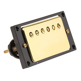 Dual Hot Rail Pickup Neck Pickup for Les Paul Replacement Accessory 50mm