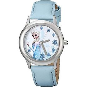 Đồng hồ trẻ em Disney Kids' W000971 Công chúa Elsa Frozen Tween Snow Queen Elsa màu xanh Nhập Khẩu Mỹ