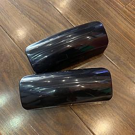 Hộp đựng mắt kính, kính mát , gọng kính tặng kèm khăn lau kính ( hộp nhựa màu đen )