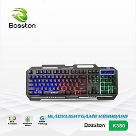 Phím Giả Cơ Bosston K380 LED Game - hàng nhập khẩu - màu ngẫu nhiên