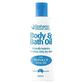 Grahams Body & Bath Oil 220ml