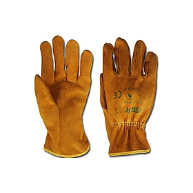 Găng tay da bò chống mài mòn và dầu SATA FS0103