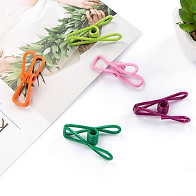 10Pcs High Quality Colorized Random Clothes Pegs Hanging Clothes Pins Clothespins Cute Beach Towel Clips Home Bed Sheet Clamps