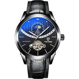 Đồng hồ cơ tự động TEVISE Men mặt đồng hồ  dạ quang Dây đeo tay thời trang nam chống thấm nước