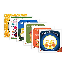 Combo 6 cuốn Ehon nhật bản dành cho trẻ từ 0 - 3 tuổi