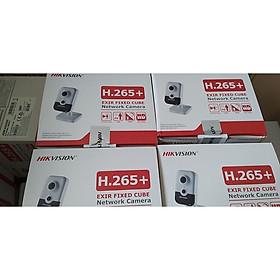 Camera quan sát IP wifi Hikvison Cube DS-2CD2421G0-IW H265+,hàng chính hãng
