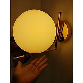 Đèn vách gắn tường quả cầu thủy tinh - RB LIGHTING