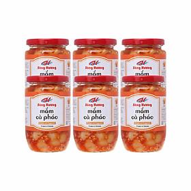 6 Hũ Mắm Cà Pháo Sông Hương Foods Hũ 390g