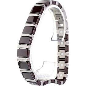 Vòng tay , vòng tay nam nữ ceramic thời trang cao cấp , bền màu vĩnh cửu hàng đẹp chât lượng MK380