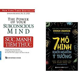 Combo 2 cuốn sách: Sức Mạnh Tiềm Thức + 7 Mô hình khởi nguồn ý tưởng