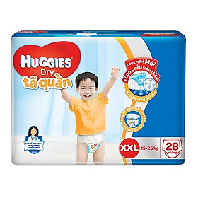 Tã quần Huggies Dry Pants Jumbo XXL 28 miếng