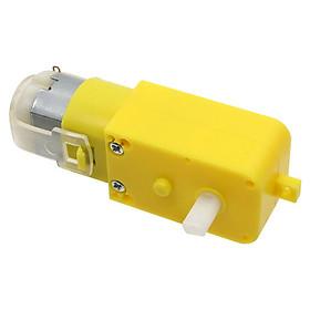 Bộ 2  Động cơ giảm tốc V1 MOTOR màu vàng 3-6V chuyên chế các loại robot đơn giản và các mô hình như ô tô, xe tăng...