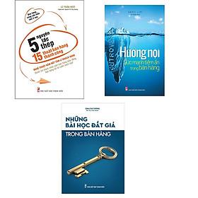Combo 5 Nguyên Tắc Thép và 15 Thuật Bán Hàng Thành Công + Hướng Nội Sức Mạnh Tiềm Ẩn Trong Bán Hàng + Những Bài Học Đắt Giá Trong Bán Hàng