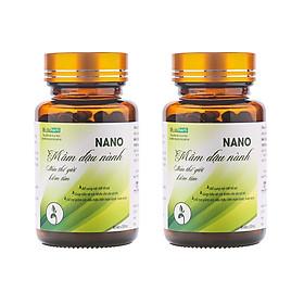 Combo 2 hộp Thực phẩm chức năng Nano mầm đậu nành Metaherb